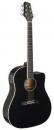 Stagg SA35 DSCE-BK - gitara elektroakustyczna