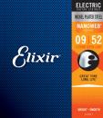 Elixir struny do gitary elektrycznej NANOWEB  9-52 7-str