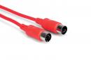 Hosa - Kabel MIDI 1.5m, czerwony
