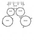 MAPEX TND5254TC DR zestaw perkusyjny