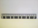 Zebra Music - Linijka 16cm - Klawisz