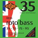 Rotosound RB35 - 4 struny bas [35-95] niklowane