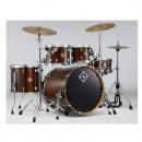 Dixon Artisan Dark Walnut Shell Set 10/12/16/22 - zestaw perkusyjny bez hardware'u