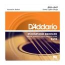 D'Addario EJ15 10-47 - struny do gitary akustycznej
