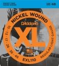 D'Addario EXL110 10-46 - struny do gitary elektrycznej