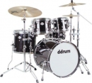 Ddrum Dominion Ash DM22 BK - akustyczny zestaw perkusyjny