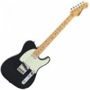 Vintage V75BK Gitara elektryczna  Gloss Black