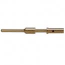 LINK LK S16 male gold solder pin conn part - męska złota szpilka (pin) do lutowania LK13-25-37-54-85