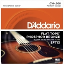 D'Addario EFT13 16-56 - struny do gitary akustycznej