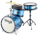 Stagg TIM J 3/12B BL - akustyczny zestaw perkusyjny