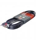 Stagg SYC3 / MPS2 CM E - kabel przejściowy mini Jack stereo / 2 x RCA męski