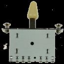 Kera Audio 5P/SQ/ST/Kremowy - Przełącznik 5-pozycyjny