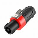 Roxtone Wtyk głośnikowy RS4F-N-RD czerwony