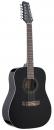 Stagg SW 205/12 BK - gitara akustyczna, 12-sto strunowa