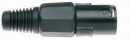 Stagg 926BK- wtyk XLR męski