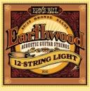 Ernie Ball EarthWood 2010 9-46 - struny do gitary akustycznej 12-strun