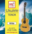 RC Strings UWT70 Ukulele Tenor set. White - Struny do Ukulele