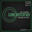 Cleartone struny do gitary akustycznej Phosphor Bronze 10-47