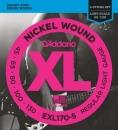 D'Addario EXL170-5 45-130 - struny do gitary basowej