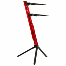 STAY Keyboard Stand SLIM 110cm 2 poziomy Red