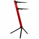 STAY Keyboard Stand SLIM 110cm 2 poziomy Red