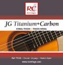 Royal Classics TTC30 JG Titanium + Carbon - Struny do gitary klasycznej