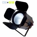 PG LED Reflektor Par 200W COB biały/zimny skrzydełka