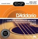 D'Addario EXP15 10-47 - struny do gitary akustycznej