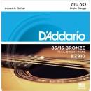 D'Addario EZ910 11-52 - struny do gitary akustycznej