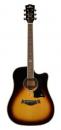 KEPMA Gitara akustyczna D1C 3ST