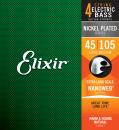 Elixir NanoWeb MEDIUM 45-105 Super Long - struny do gitary basowej