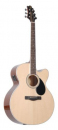 Samick GJ-100SCE N - gitara elektroakustyczna
