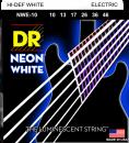 DR struny do gitary elektrycznej NEON WHITE 10-46