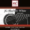 Royal Classics SBW80 JG Black & White - Struny do gitary klasycznej