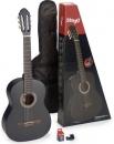 Stagg C440M BLK PACK - gitara klasyczna z wyposażeniem