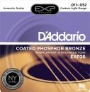 D'Addario EXP26 NY 11-52 - struny do gitary akustycznej
