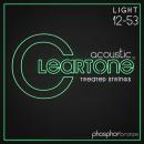 Cleartone struny do gitary akustycznej Phosphor Bronze 12-53