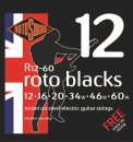 Rotosound R12-60 Blacks [12-60] niklowane struny do gitary elektrycznej