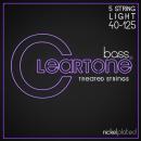 Cleartone struny do gitary basowej niklowane 40-125 5-str