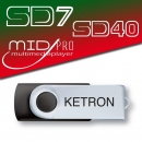 PEN DRIVE 2016 SONG STYLE POP do SD7, SD40, MIDJ PRO, KETRON