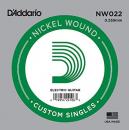 D'Addario NW022 struna 22 w owijce nickel