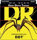 DR struny do gitary basowej DDT stalowe 50-110
