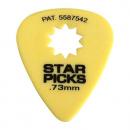 Cleartone kostka do gitary STAR PICKS 0.73 żółta