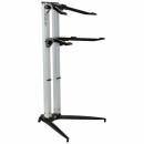 STAY Keyboard Stand PIANO 120cm 2 poziomy Sliver statyw pod keyboard