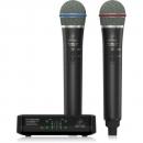 Behringer ULM302MIC Mikrofon bezprzewodowy 2,4 GHz podwójny