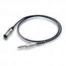 Proel BULK220LU1 Kabel mikrofonowy mono jack - XLR M - 1m