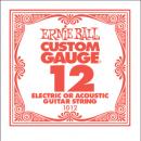 ERNIE BALL EB 1012 struna pojedyncza do gitary elektrycznej