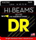DR struny do gitary basowej HI-BEAM stalowe 40- 95