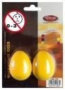 Stagg EGG 2 YW - shakery plastikowe żółte