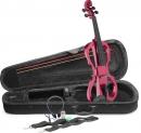Stagg EVN X-4/4 MRD – zestaw skrzypce elektryczne z akcesoriami